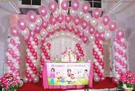 decorations for 1st birthday party girl home decoration ideas