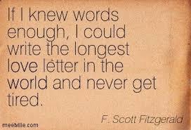 F Scott Fitzgerald Love Quote f scott fitzgerald love quotes Google Search quotes Pinterest 74