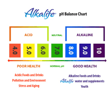 Alkaline Ph Level Chart Living Alkaline Your Alkaline Water Should Be A Ten And