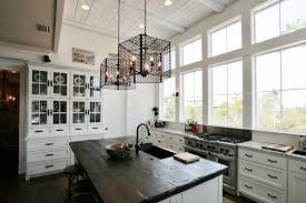 bob wallace appliance beach style kitchen and china hutch kitchen island paneled ceiling pendant lighting tongue and groove wall white kitchen windows