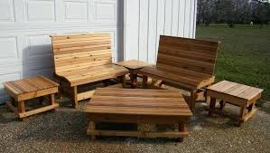 cedar outdoor furniture plans patio best finish for table swings images porch decorating marvelous set deck furni