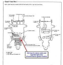fuse box honda accord fuse wiring diagrams