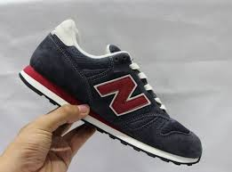 new balance shoes red and blue. 2015 new balance 373aa mens pig leather dark blue red shoes and