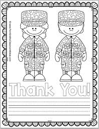 Small Picture Memorial Day Coloring Page and Thank You Notes Teach Junkie