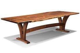 1619 liveedge spirit wood base dining table
