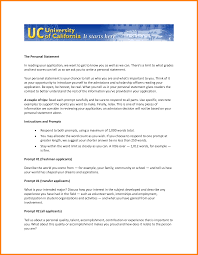 UC Application II   Personal Statements UC Berkeley Admissions