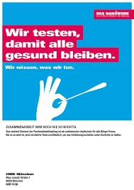 Das bayerische kabinett hatte in der vergangenen woche beschlossen, dass die bisher üblichen. Imagekampagne Corona Artikel Fur Betriebe Handwerkskammer Fur Munchen Und Oberbayern