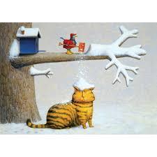 by Marian Heath | Art, Cat art, Christmas cats