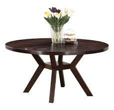 acme 16250 drake espresso round dining table 48inch with room splendid picture