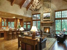 Ranch House Open Interior  Open Floor Plan Ranch Style Homes Country Style Open Floor Plans