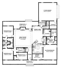 traditional house plan first floor 028d 0022 house planore