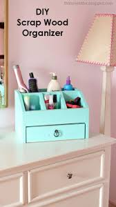 diy office projects. Desktop Office Or Vanity Beauty Organizer Diy Projects