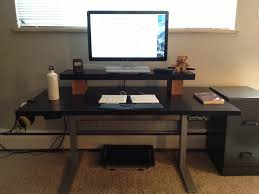 Adjustable Height Desk Ikea A Series Of Ergonomic Reviews To Decor