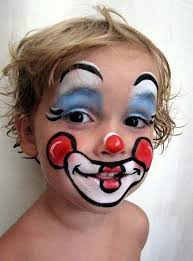 makeup keywords u0026 suggestions cute clown painting loving the red shadows how to do