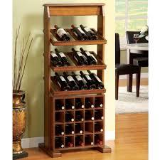 wine bottle storage furniture. High Light Brown Wooden Rack With Three Shelves Combined Twenty Bottle On The Bottom Wine Storage Furniture O