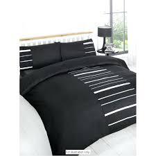double duvet sets image of duvet cover black embellished pug double duvet cover argos