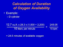 Oxygen Tank Conversion Chart Flight Physiology 101 Jeremy Maddux Nremtp Ppt Download