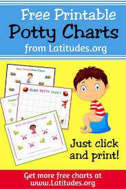 Free Printable Potty Training Charts For Boys And Girls