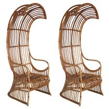 bamboo rattan chairs. Canopy Chair Furniture Home Remarkable Photos Concept Pair Of Bamboo And Rattan Chairs At