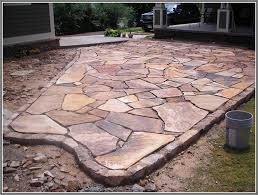Concept Flagstone Patio Moss Home Design Furniture Image Collection With Modern Ideas