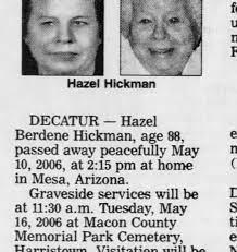 Hazel Hickman - Newspapers.com
