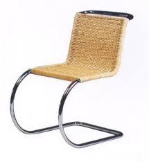 mies van der rohe cane chair