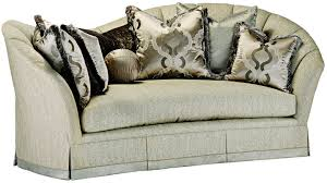 sofa couch u0026 loveseat curved back sofa in a gorgeous slate grey fabric curved o20