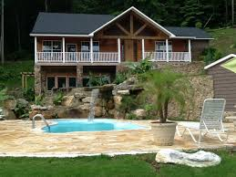 Luxury home swimming pools Indoor Featured Image Expedia Luxury Lakefront Home Swimming Pool Boathouse With Pontoon Boat