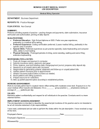 Ideas Collection Sample Cover Letters For Medical Billing Jobs In