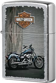 <b>207 Harley</b> Bike <b>Зажигалка Zippo Harley</b>-<b>Davidson</b>, Street Chrome