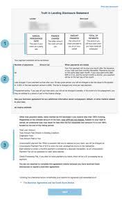 Lending Club Borrower Reviews Understanding Your Truth In Lending Disclosure Lendingclub