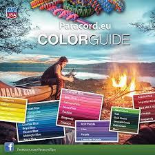 Paracord Color Chart