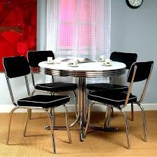 round kitchen dining sets uk the most retro bistro dining table 4 chairs set vintage kitchen