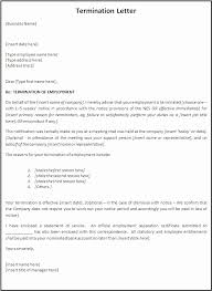 Termination Letter Template Fresh Separation Agreement Template Word