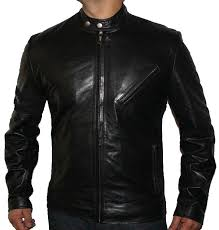 classic style leather jacket ln 133