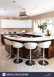 fine modern kitchen stools chrome at breakfast bar in with