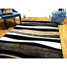7 foot square rug x 1 home bazaar brown 7x7 indoor