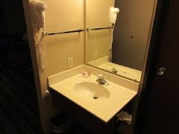 super 8 by wyndham great falls mt the sink is outside the bathroom