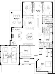 Fascinating 4 Bedroom Duplex House Plans Images  Best Idea Home 4 Bedroom Duplex Floor Plans