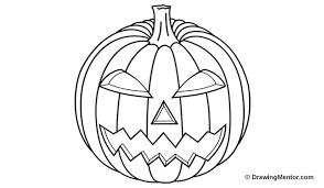 pumpkin drawing. how to draw a pumpkin drawing c