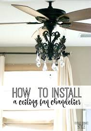hang chandelier from ceiling fan how to hang chandelier from ceiling and best fan ideas on