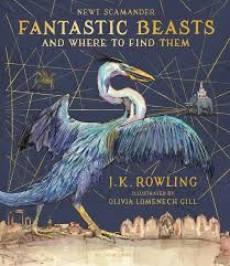 the covers for the new fully ilrated edition of fantastic beasts and where to find them have been released as well as a k inside the book is