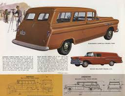 1958 Chevrolet Task Force Panel Truck Brochure Photo Picture