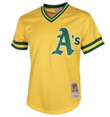 Athletics Jersey Practice Oakland Batting