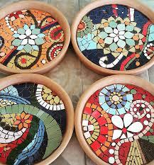 own diy mosaic coasters mozaico