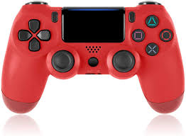 Why Is My Ps4 Controller Light Red Yigeyi Ps4 Controller Wireless Bluetooth Gamepad With Charger Cable For Ps4 Touch Panel Joypad With Dual Vibration Compatible With All Ps4 Models