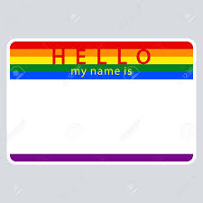 Use It In All Your Designs Blank Name Tag Sticker Hello My Name