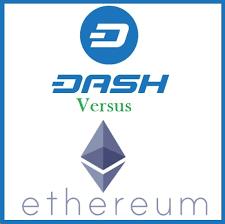 Dash Versus Ethereum Price Chart Trade Dash Online