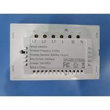 Công Tắc Wifi Tuya Smart Home Cảm Ứng Thông Minh 3 Nút Đen/Trắng Showroom  81 NGUYỄN CÔNG TRỨ HÀ NỘI 0869.253.980 giá cạnh tranh
