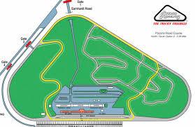 Pocono Raceway Long Pond Seating Chart Pocono Raceway Performance Driving Track Events Hpde Scda